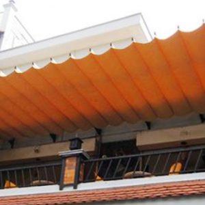 Mái xếp lượn sóng Bình Tân