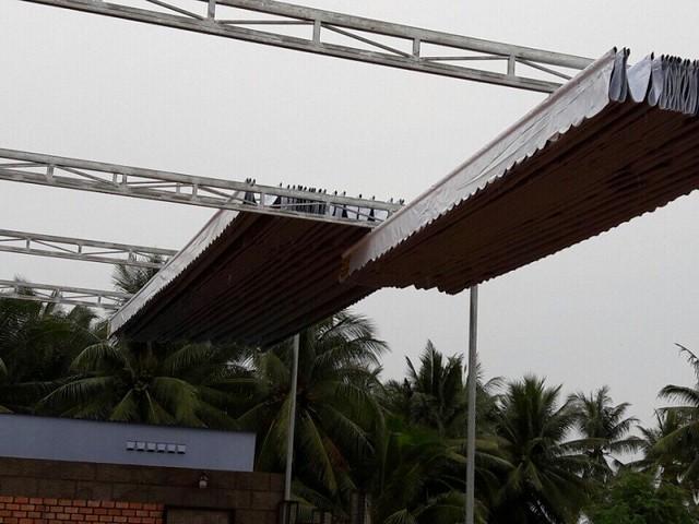 Lắp đặt khung mái che di động cần chú ý những gì?