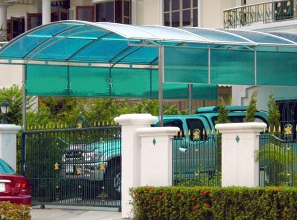Mái vòm nhà để xe Tân Bình