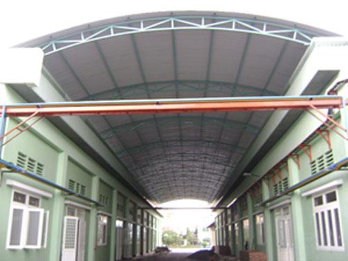 Mái vòm nhà xưởng Tân Bình