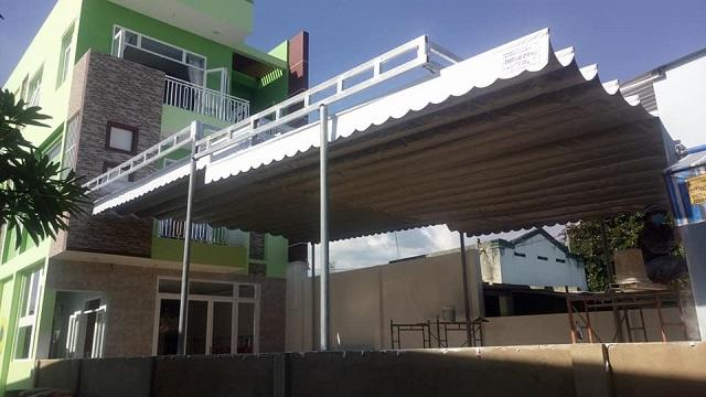 Các ưu điểm vượt trội của mái xếp Nha Trang